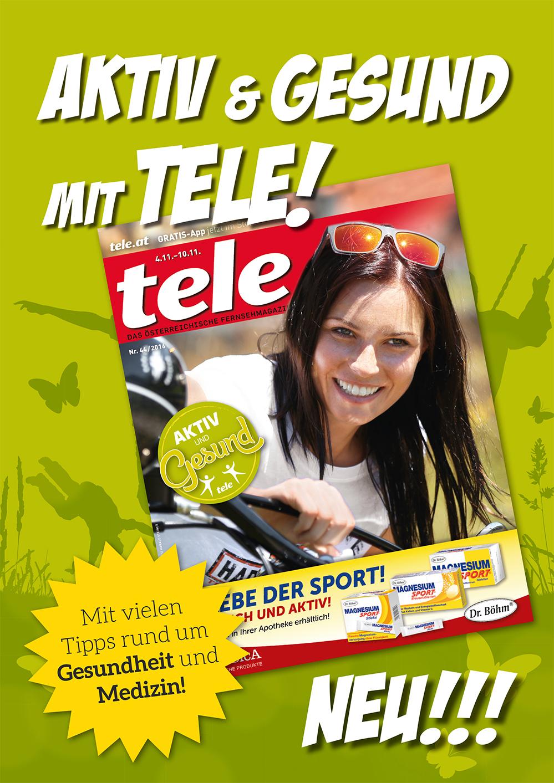 Fernsehmagazin tele mit neuem aktuellen teil leadersnet for Wohnwand ohne tv teil