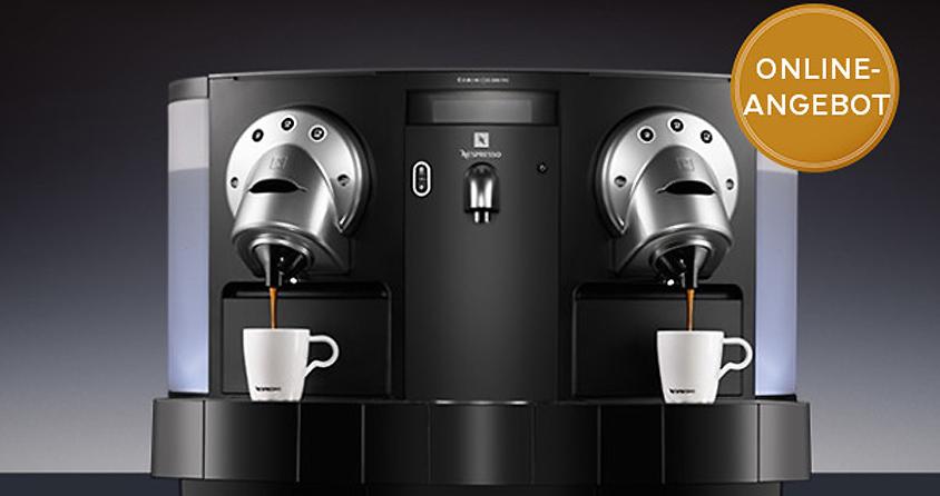 limitiertes angebot von nespresso business solutions leadersnet. Black Bedroom Furniture Sets. Home Design Ideas