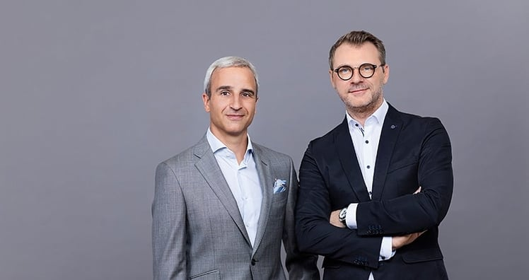 Martin Distl und Andreas Stollnberger (c) REWE International AG / EHM
