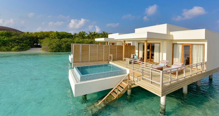 luxusurlaub auf den malediven leadersnet. Black Bedroom Furniture Sets. Home Design Ideas