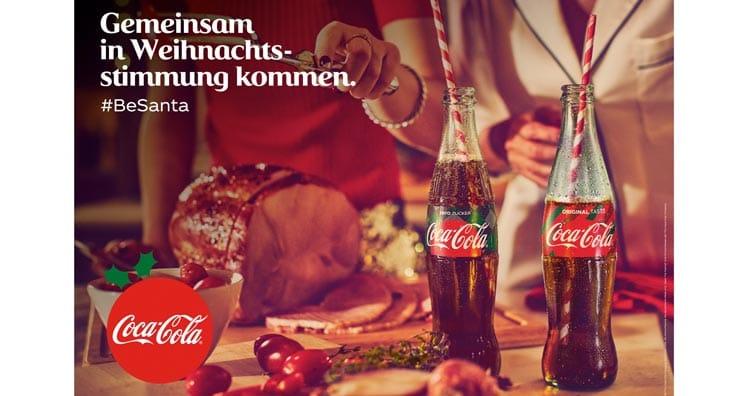 Coca Cola Werbung Weihnachten.Coca Cola Die Welt Braucht Mehr Santas Leadersnet