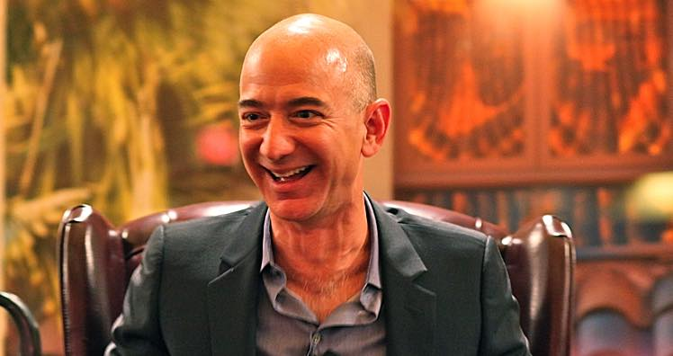 Amazon-Chef Jeff Bezos © Steve Jurvetson/CC BY 2.0