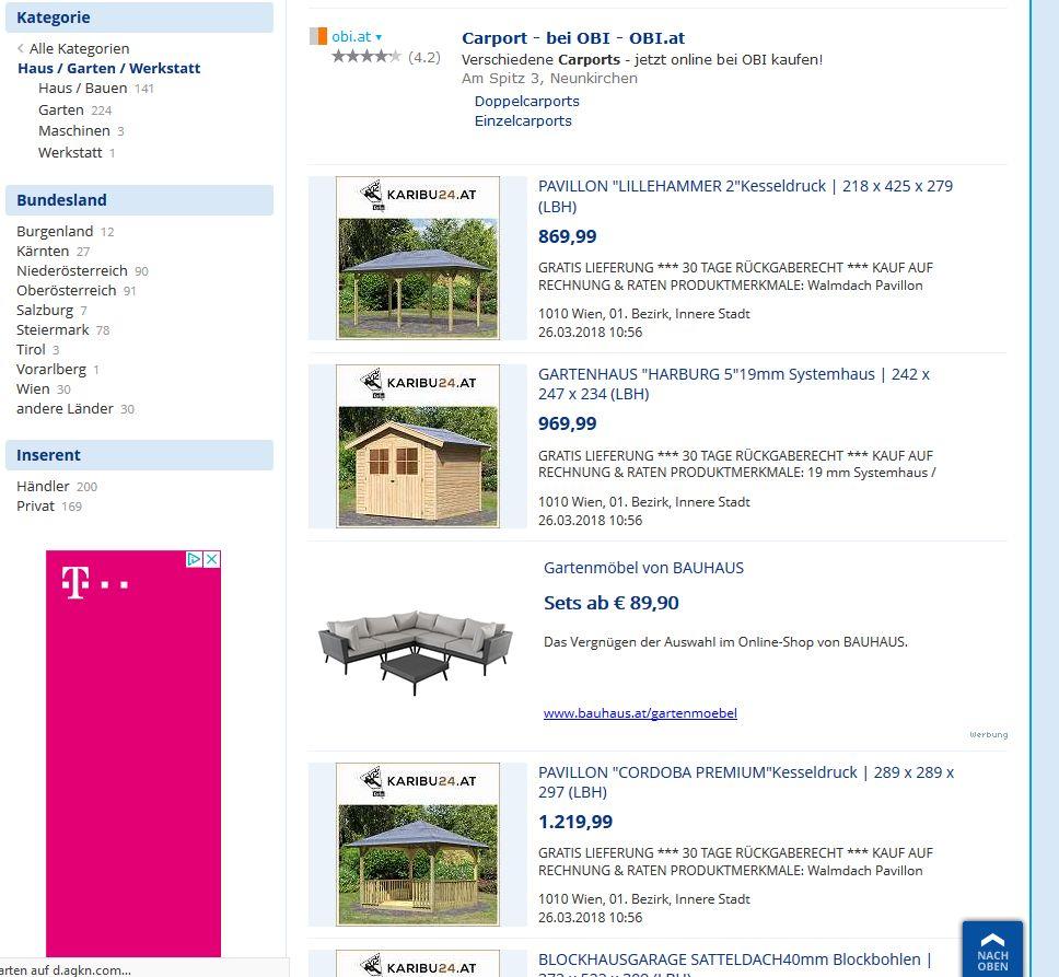 Willhaben Kampagne Lässt Klickraten Für Bauhaus Online Shop In Die
