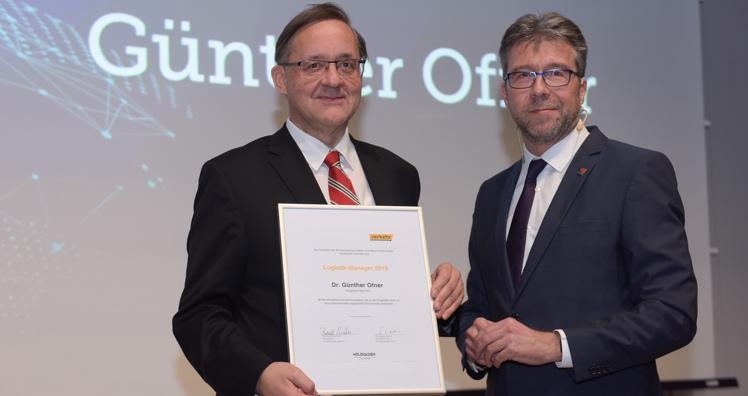 """Flughafen-Vorstand ist """"Logistik-Manager 2019"""" - Leadersnet.at"""