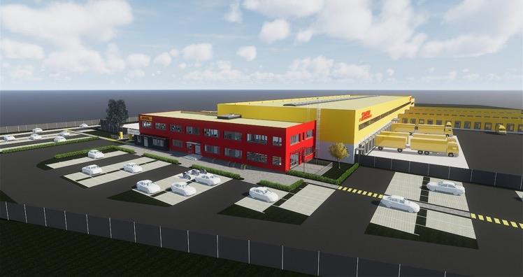Neuer DHL Express-Standort am Linzer Flughafen erreicht ...